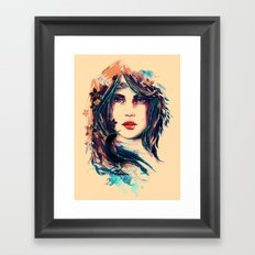 SOME DEVIL SOME ANGEL Framed Art Print