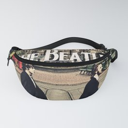The Beetles on Abbey Road Fanny Pack