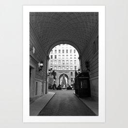 New York Building II Art Print