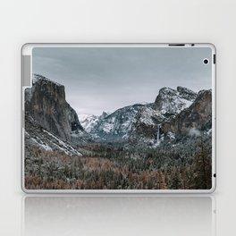 Snow at Yosemite's Tunnel View Laptop & iPad Skin