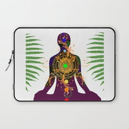 Yoga,meditation,spiritual design Laptop Sleeve