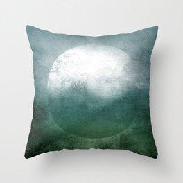 Circle Composition VII Throw Pillow