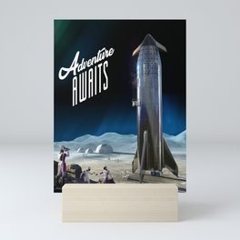 Adventure Awaits Mini Art Print