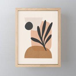 Minimal Abstract Art 11 Framed Mini Art Print