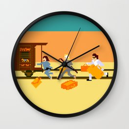 How Can A Train Be Lost? Wall Clock
