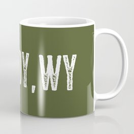 Deer: Cody, Wyoming Coffee Mug