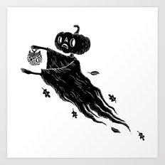 The Spectre of Autumn Art Print