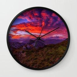Powerful Sky Wall Clock
