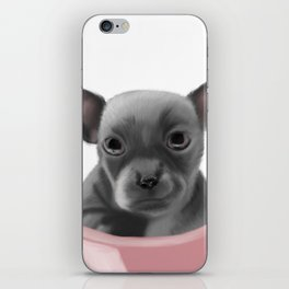 Chihauhau - Sitting Pretty iPhone Skin