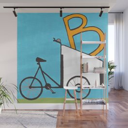 B is for Boxcycle Wall Mural