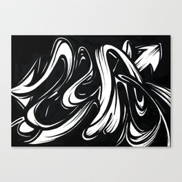 Mono Canvas Print