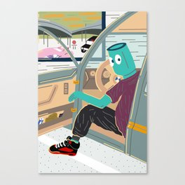 TMZ Caught Out Here.. Canvas Print