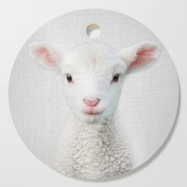 Lamb - Colorful Cutting Board