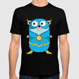 Golang - Iris Gopher T-shirt