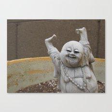 Buddha Party Canvas Print