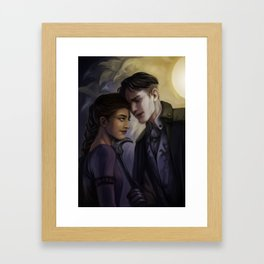 Improvised Intimacy Framed Art Print