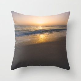 Ocean Glow Throw Pillow