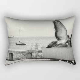 L'oiseau Rectangular Pillow