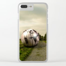 the north Clear iPhone Case
