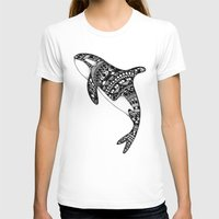 killer whale T-shirts featuring Killer Whale by Emma Barker