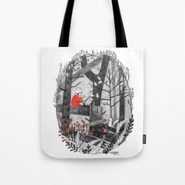 The Story Tree Tote Bag