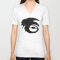 how to train your dragon V-neck T-shirts featuring How to train your dragon  by Shouho