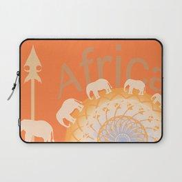 Africa elefants Laptop Sleeve