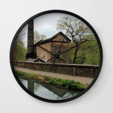 Industrial Revolution Wall Clock