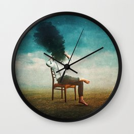 Smoke Signal Wall Clock