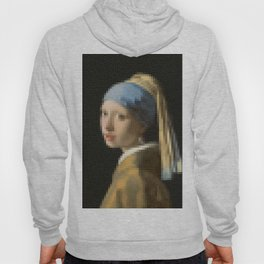 The Girl with Pearl Earrings Hoody