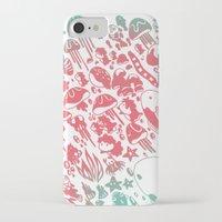 ponyo iPhone & iPod Cases featuring Ponyo by drawnbyhanna