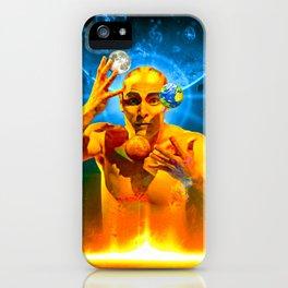 Cosmic Juggling iPhone Case