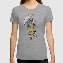 Cat With Ōgi T-shirt