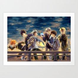Haikyuu!! - 3rd Gym Squad Art Print