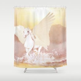 HORSE - Pegasus Shower Curtain