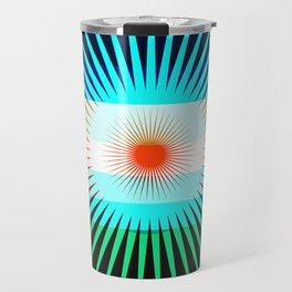 Sunset Bit Travel Mug