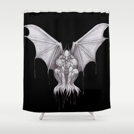 Gargoyle Shower Curtain