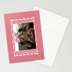 Smile, puppy, smile Stationery Cards