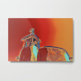 Chapel and Bell Tower Metal Print