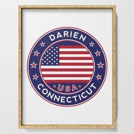 Connecticut, Darien Serving Tray