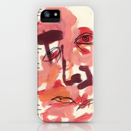 What You Say & What You Mean iPhone Case