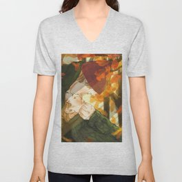 Isak+Even x Autumn Unisex V-Neck