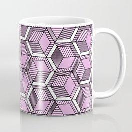 Pink and mint Coffee Mug