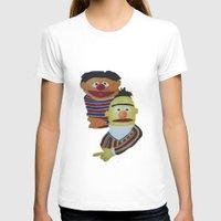 sesame street T-shirts featuring Sesame Street Bert and Ernie by ArtSchool