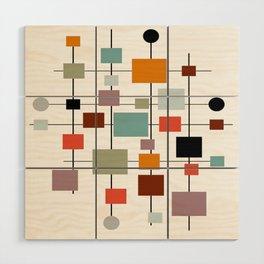 Mid-Century Modern Art 1.3.1 Wood Wall Art