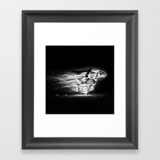 Drawlloween 2013: Skeleton Framed Art Print