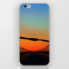 Colorful Bright Modern Art - Eternal Light 2 - Sharon Cummings iPhone Skin