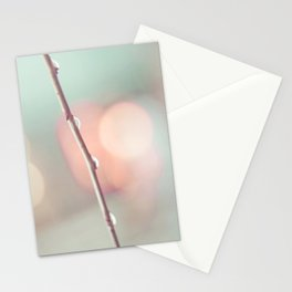 Pastel Rain Stationery Cards