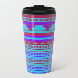 Mexican Aztec ethnic pattern Travel Mug