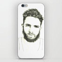 Beards iPhone Skin